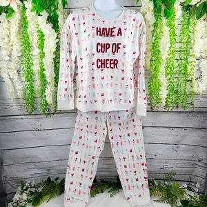 Lauren Conrad Have a Cup of Cheer Pajama Set
